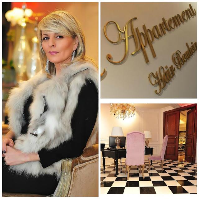 "L'Appartement Hair Boudoir"" in New York City."