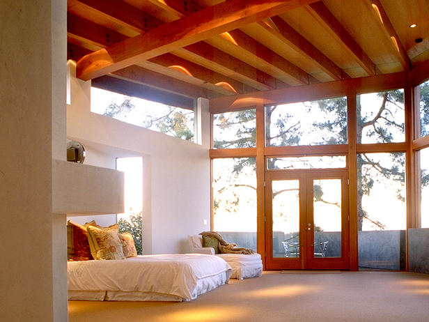 Airy Bedroom With Incredible View