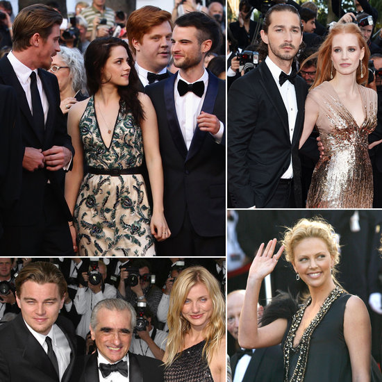 Celebrities during the Cannes Film Festival