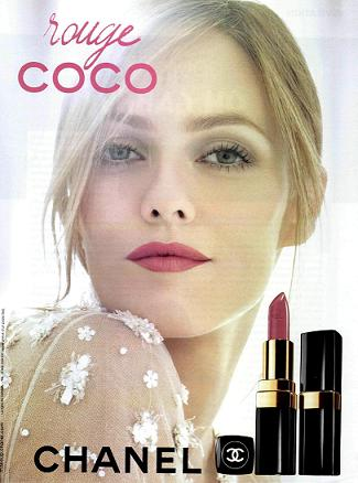 Classy Vanessa Paradis For Coco Rouge