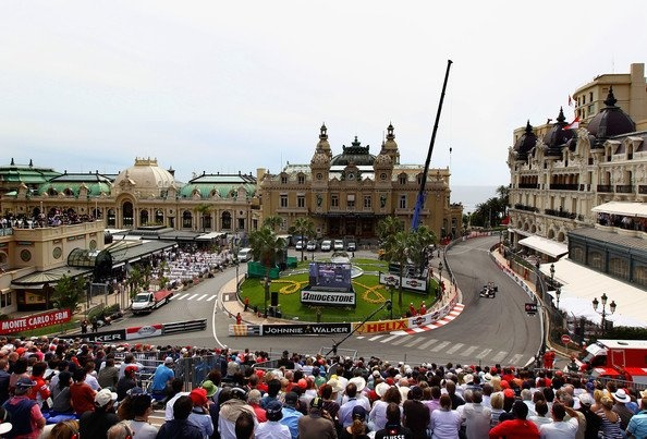 Monaco during the F1