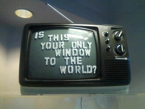 The wrong window to the world.