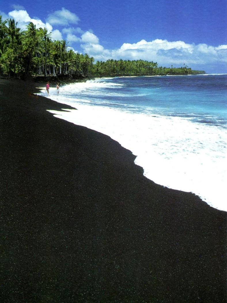 BLACK SAND BEACH