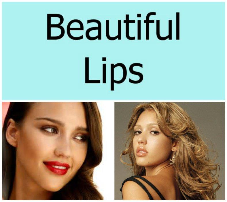jessica alba lips