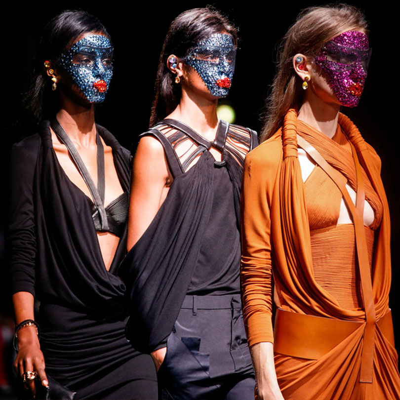 Givenchy Masks Spring 2014